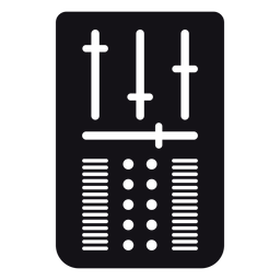 Silueta de control de volumen