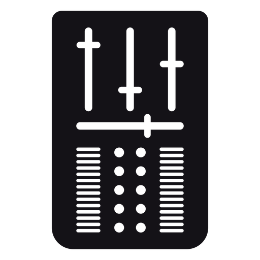 Volume control silhouette Transparent PNG
