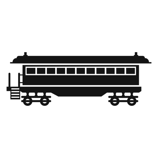 Wagon silhouette Transparent PNG