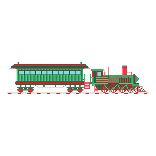 Wagon steam locomotive pilot illustration Transparent PNG