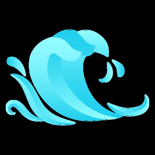 Queda de onda plana Transparent PNG
