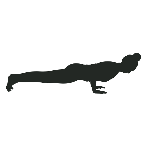 Woman pose exercise silhouette Transparent PNG
