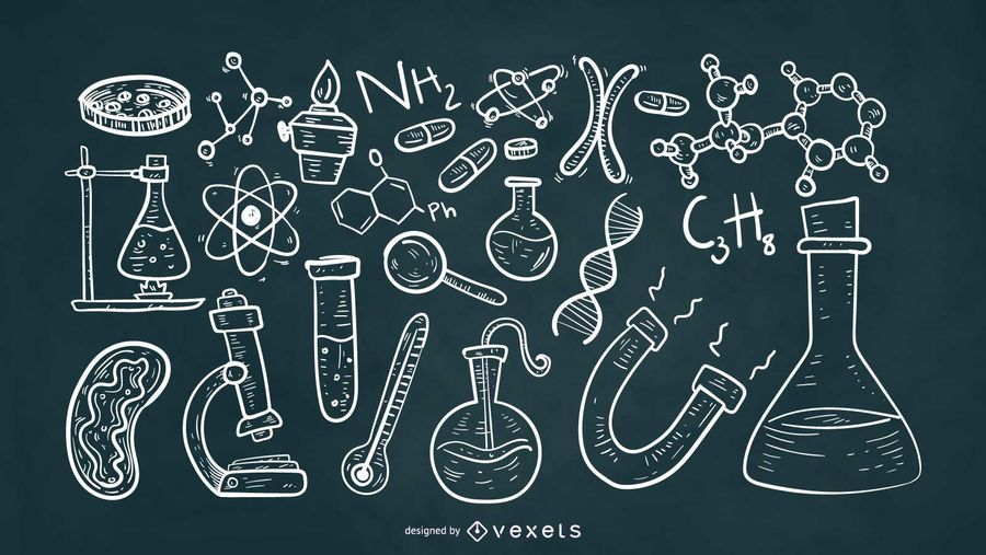Scientific Elements Chalk Style