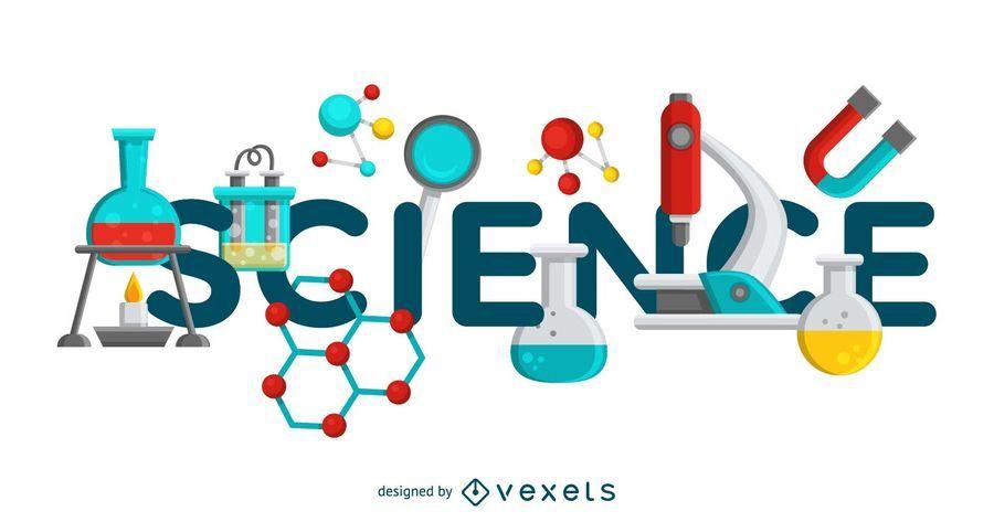 Ilustração de aparelhos de laboratório