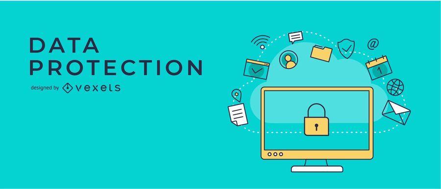 Design de Banner de Proteção de Dados