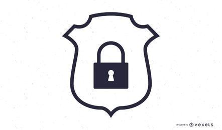 Symbol für Sicherheitsabzeichen