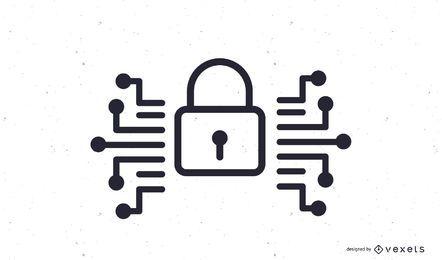 Icono de candado de seguridad