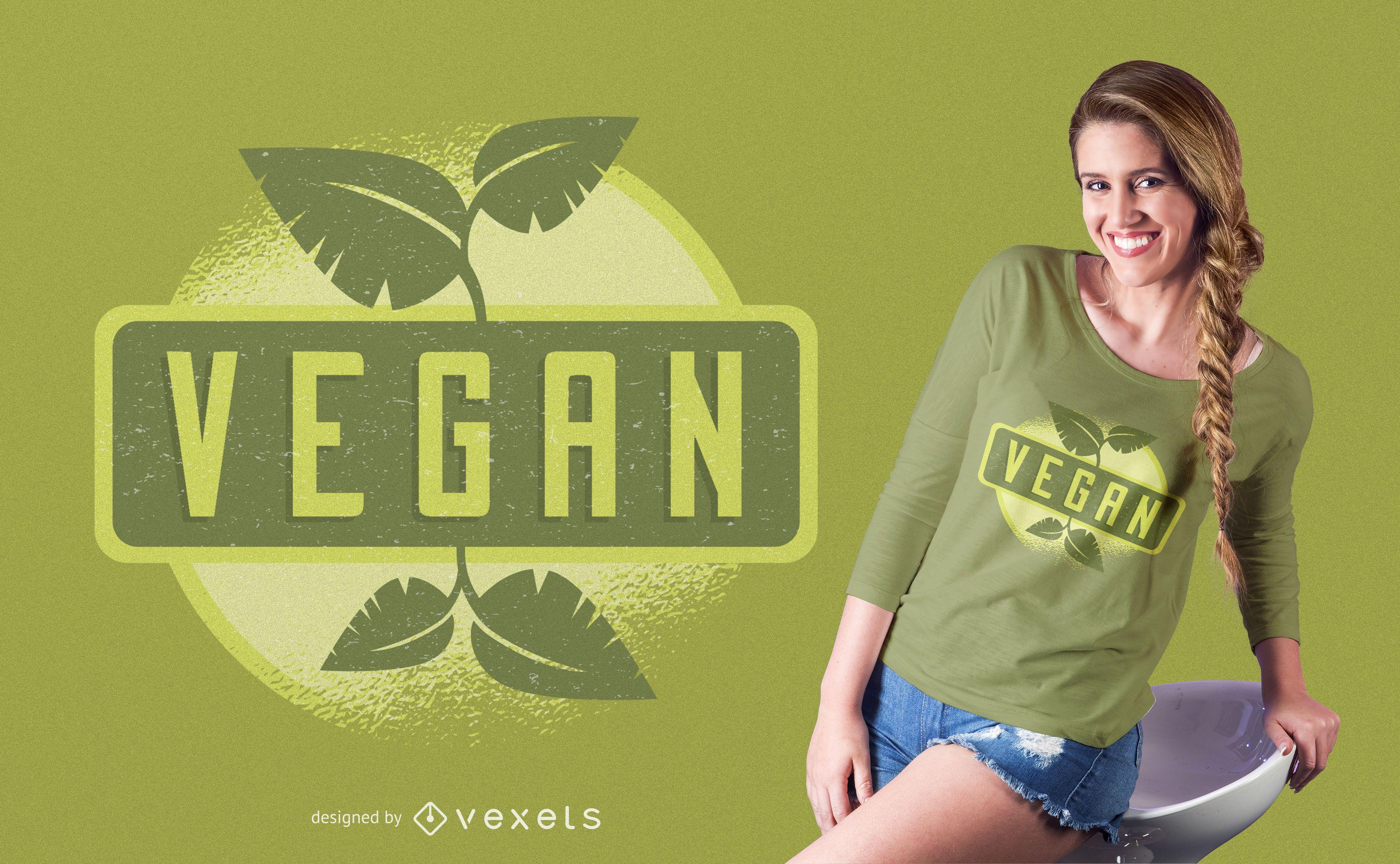 Design de camisetas veganas