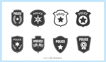 Police Badge Set