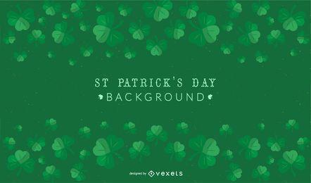 St. Patrick's Day Shamrock Hintergrund