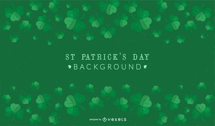 St Patrick's Day Shamrock Background
