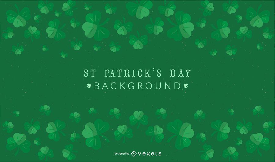 St Patrick's Day Shamrock Background