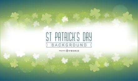 Fundo Mágico de St Patricks Day