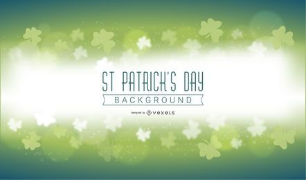 St Patricks Day Magic Background