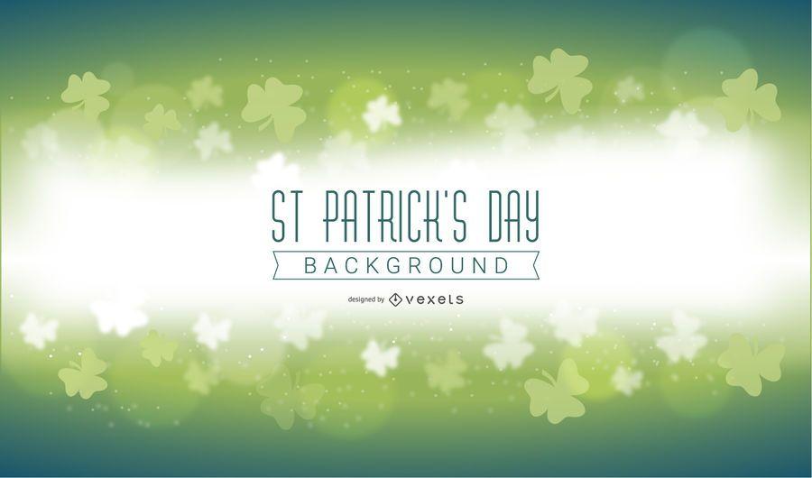 St Patricks Day Magic Background