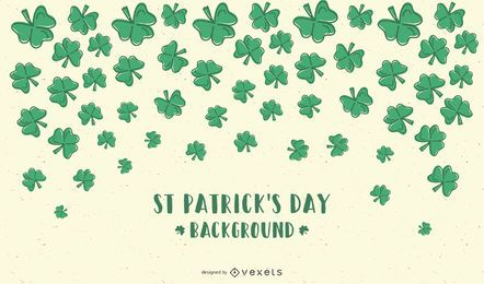 Saint Patricks Day Clovers Background