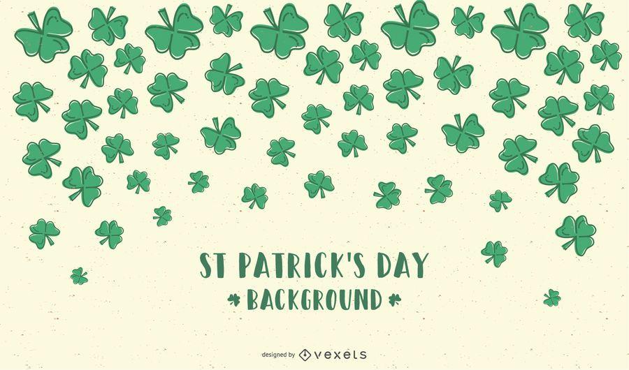 Saint Patricks Day Cartoon Background