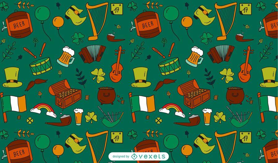 Saint Patrick's Day Pattern