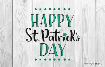 Happy Saint Patrick's Day Design