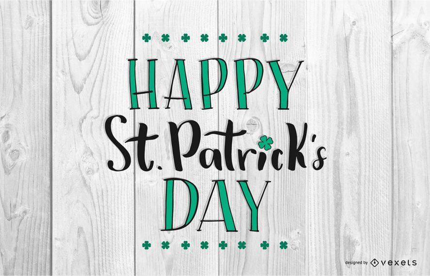 Happy Saint Patrick's Day Design