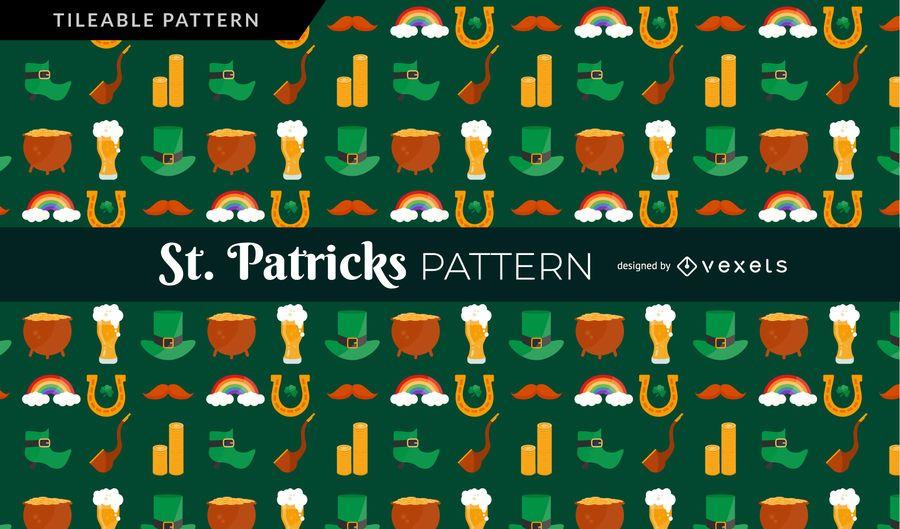 St. Patricks-Muster