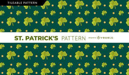Padrão de trevo de St. Patrick