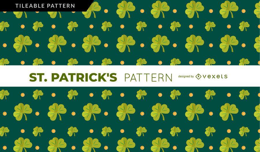 St. Patrick's Shamrock Pattern