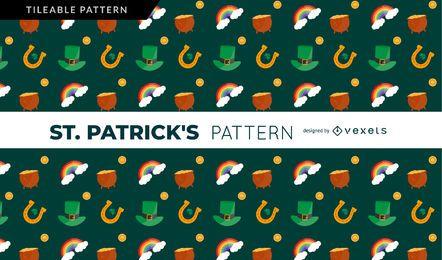 Patrón irlandés de San Patricio