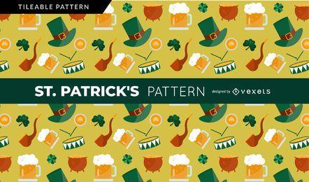 Padrão de elementos de Saint Patrick