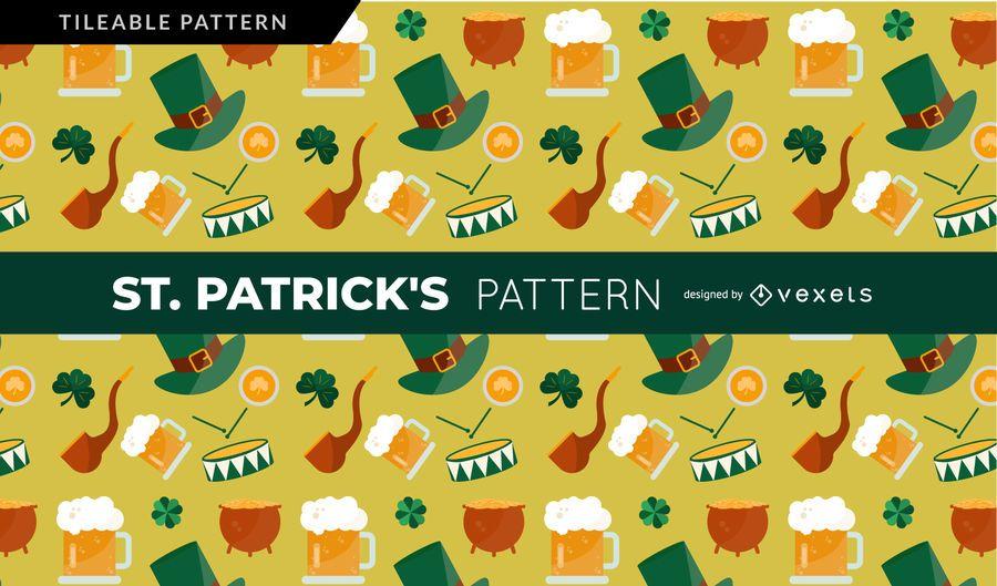 Saint Patrick's Elements Pattern