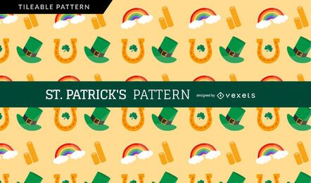 Light Saint Patrick's Day Pattern