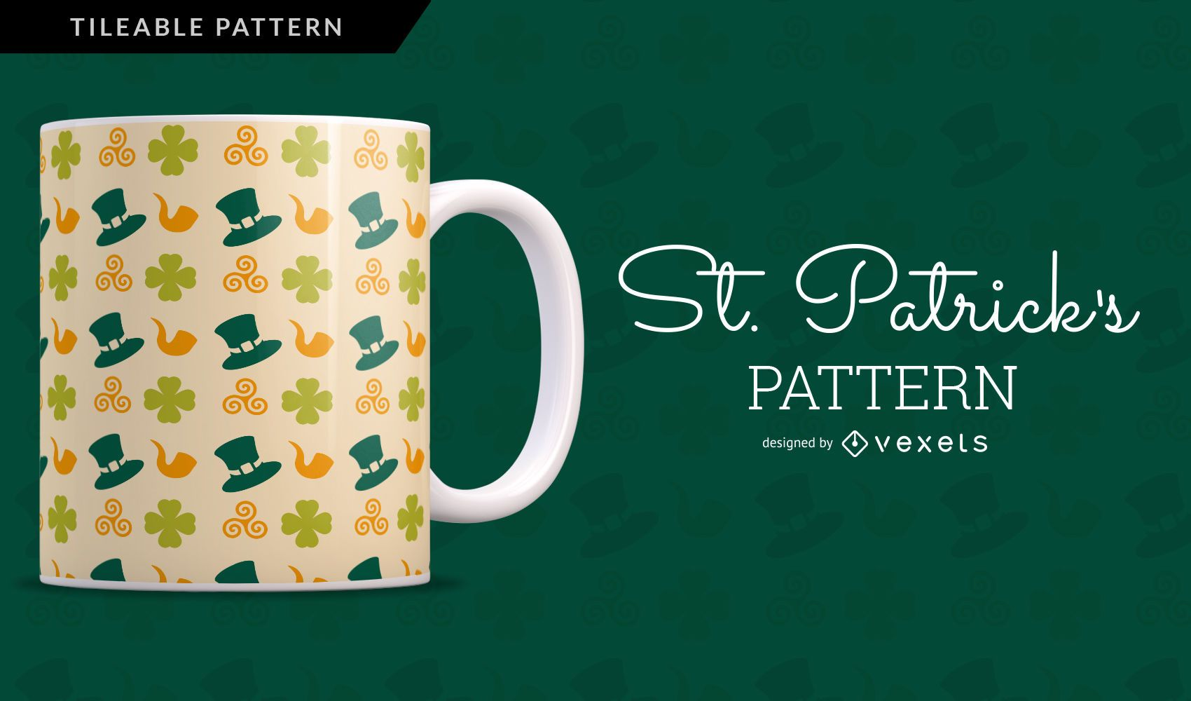 Saint Patrick's Pattern Design