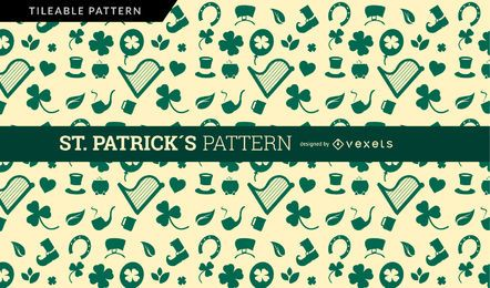 Saint Patrick's Pattern Design