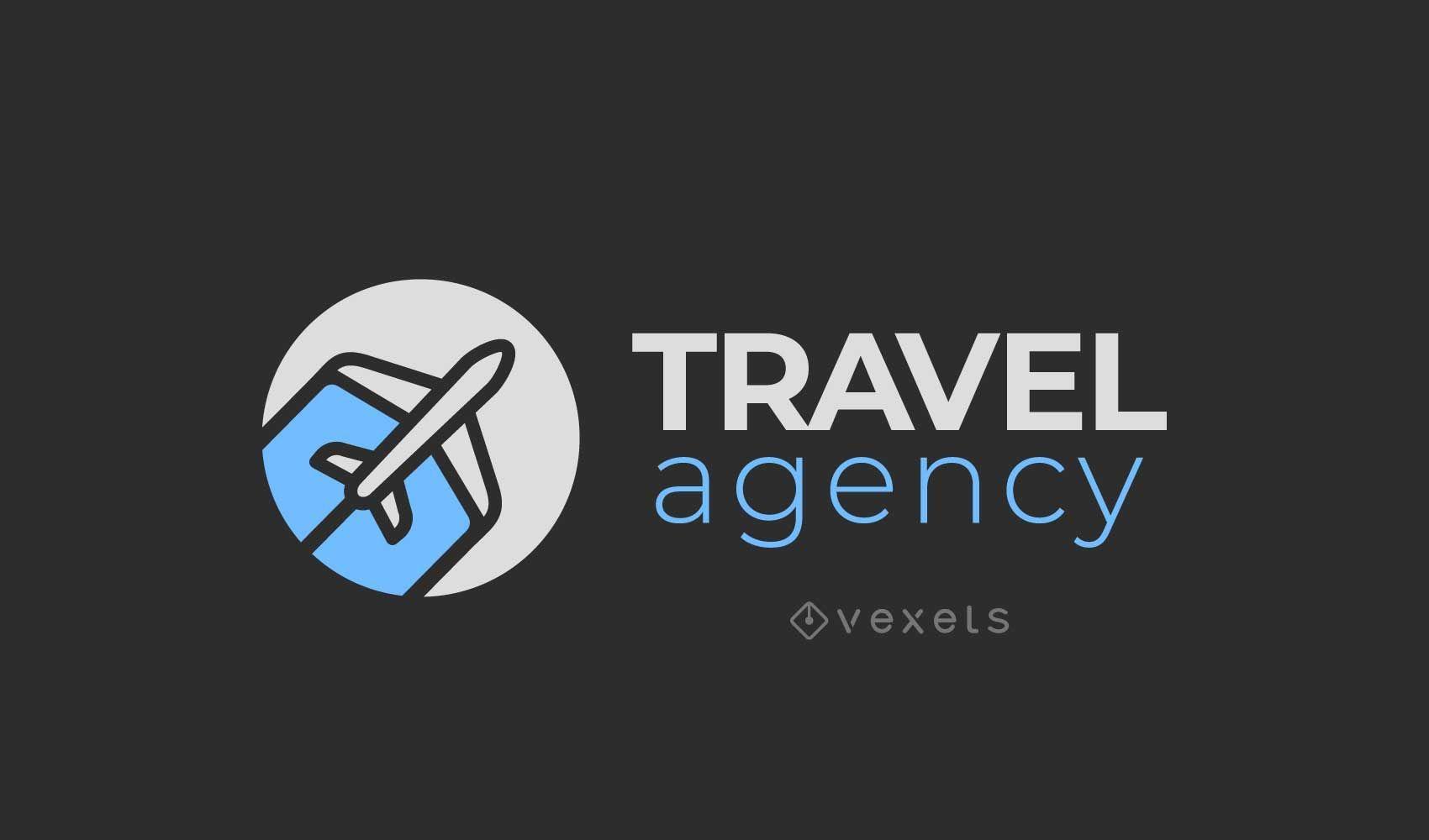 Design de logotipo de agência de viagens