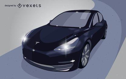 Orion's Vector Car