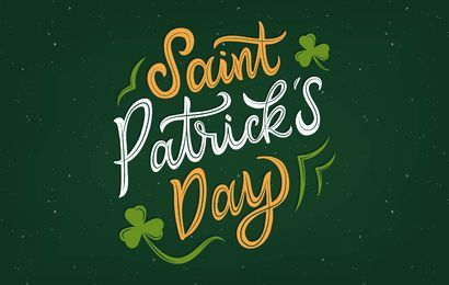 Saint Patrick's Day Lettering Design