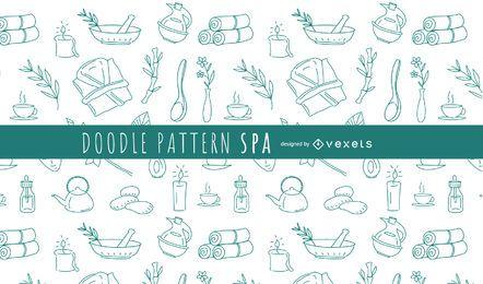 Doodle padrão Spa