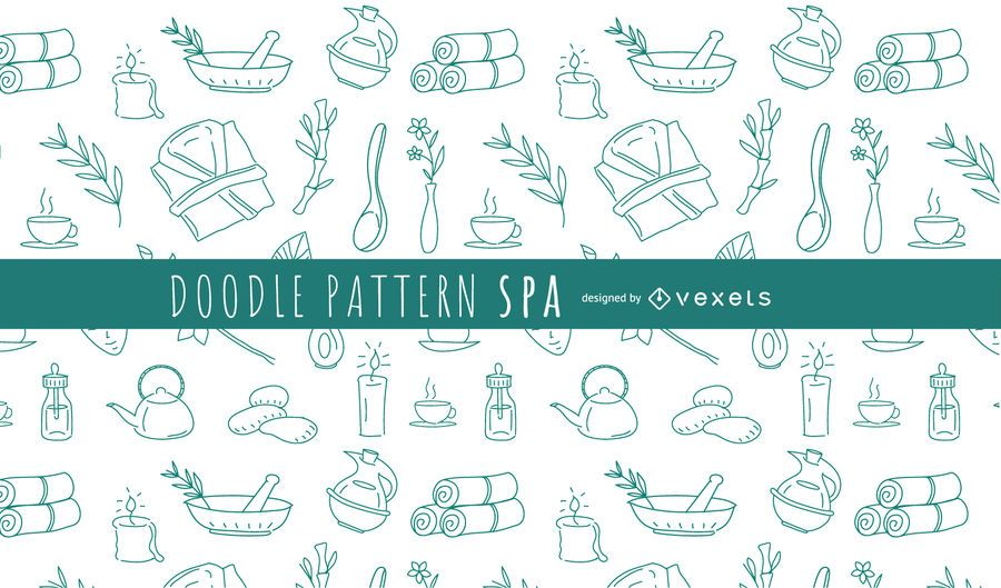 Doodle Pattern Spa