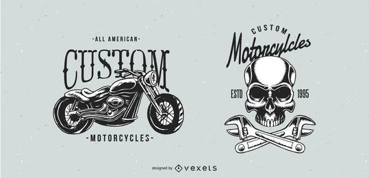 Classic Motorcycle Badges
