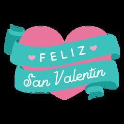 Feliz San Valentine Valentinsgrußgruß