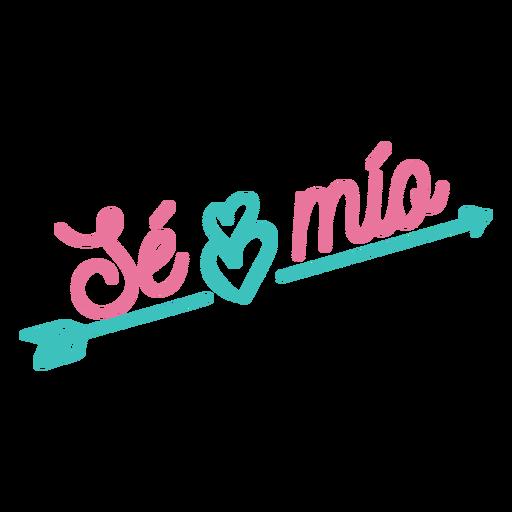 Te mio espanhol letras Transparent PNG