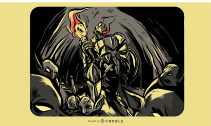 Goblin Slayer Illustration