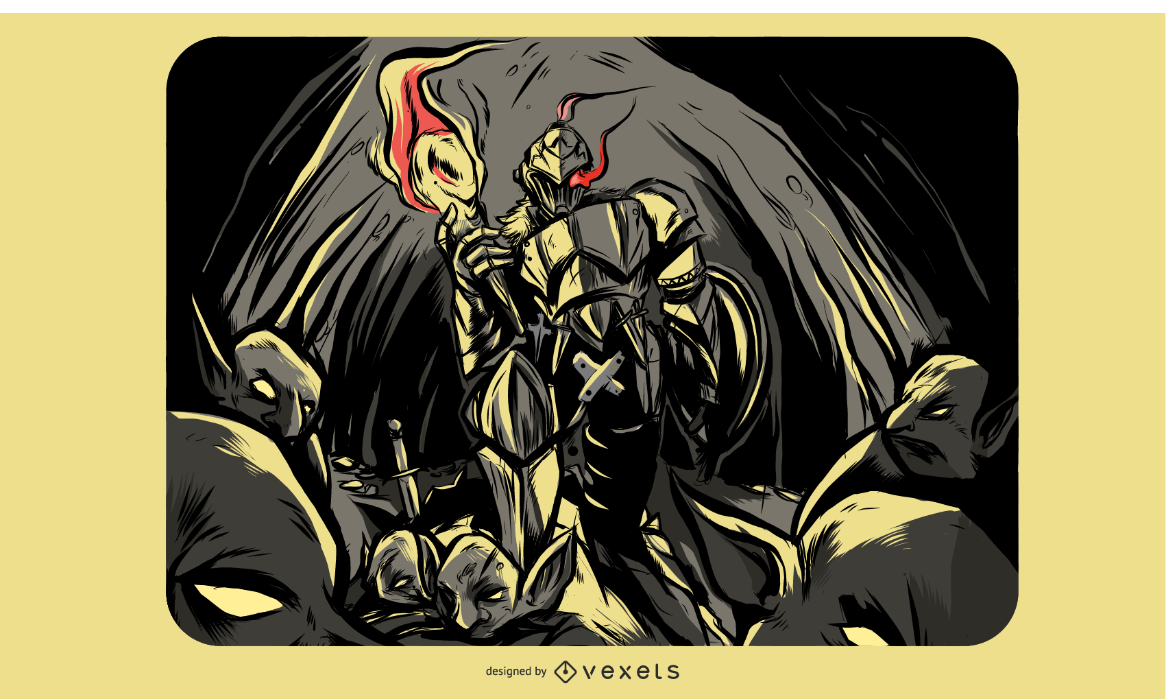 Goblin Slayer Illustration