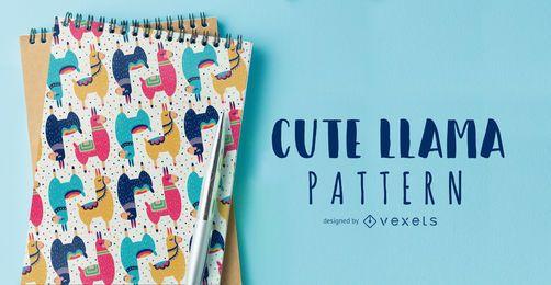 Cute Llama pattern