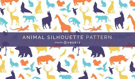 Animal Silhouette Pattern