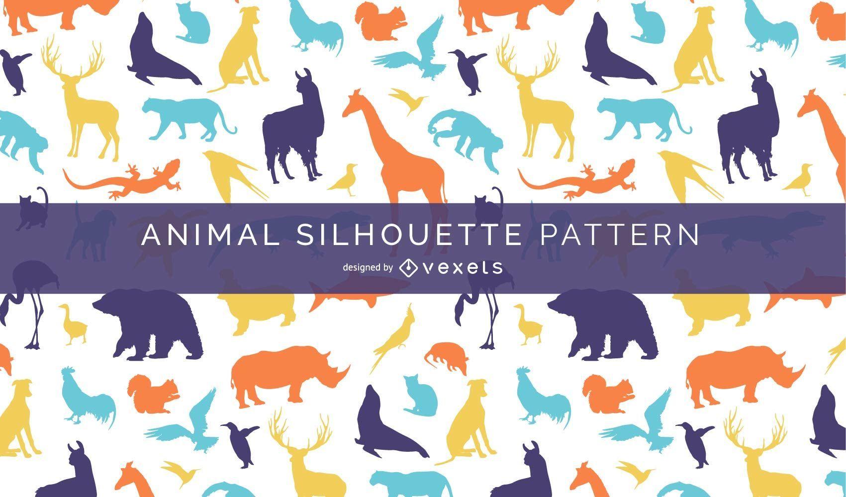 Animal Silhouette Pattern