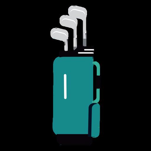 Bag club golf illustration