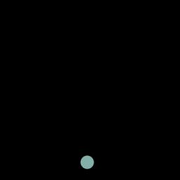 Curso de ícone de bateria