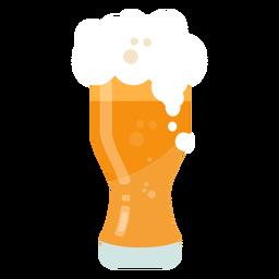 Caneca de cerveja plana