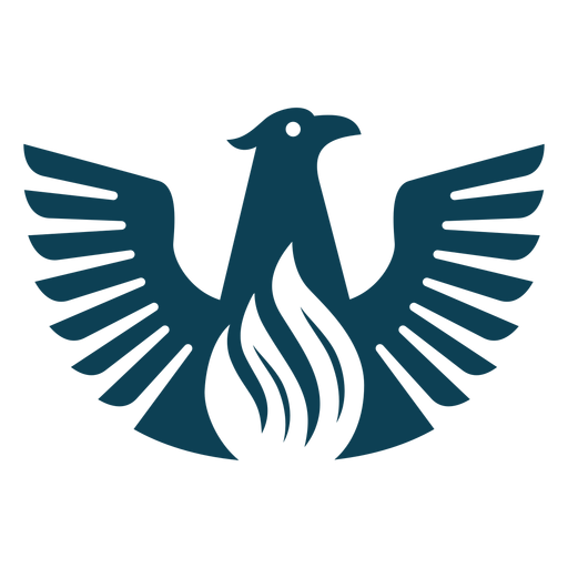Bird eagle wing beak silhouette Transparent PNG